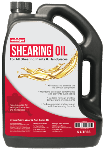 Heiniger Shearing Oil Web
