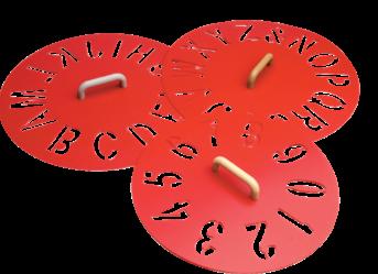 Circular Stencils