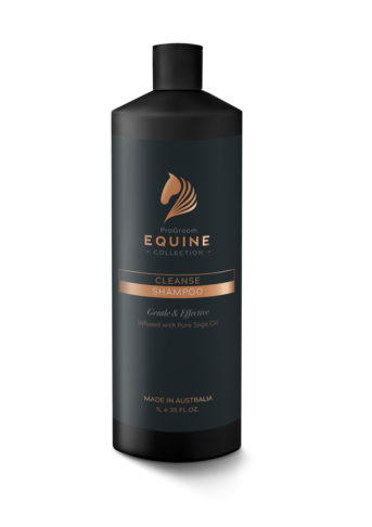 Equine Black 1 L Bottle Cleanse Shampoo