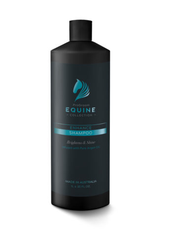 Equine Black 1 L Bottle Enhance Shampoo